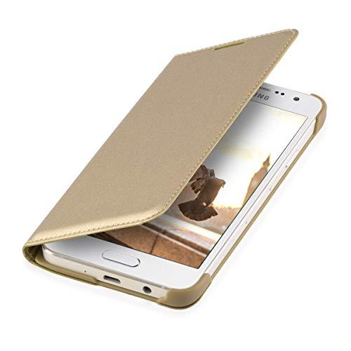 kwmobile Cover Compatibile con Samsung Galaxy A3 (2015) - Custodia a Libro in Simil Pelle PU per Smartphone - Flip Case Protettiva