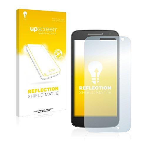 upscreen Entspiegelungs-Schutzfolie kompatibel mit Lenovo/Motorola Moto G4 Play – Anti-Reflex Bildschirmschutz-Folie Matt