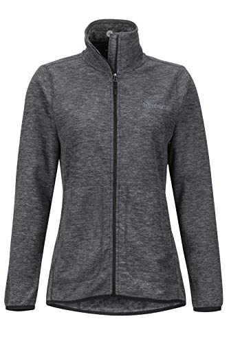 Marmot Damen Wm's Pisgah Fleecejacke Outdoorjacke, Atmungsaktiv, Dark Steel, XL