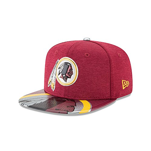 New Era NFL Washington Redskins 2017 Draft On Stage Original Fit 9Fifty Snapback Cap S-M