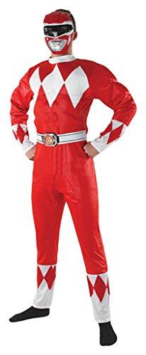 Rubie's officieel Power-Ranger-pak voor volwassenen, kostuum