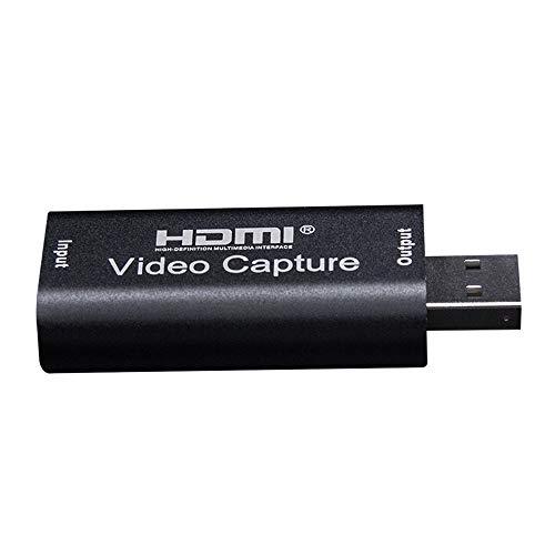 Btuty Mini Placa de Captura de Vídeo USB 2.0