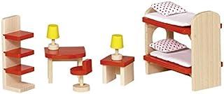 Goki Basic - 51719 - Mobilier de Poupée - Meuble de Poupée - Chambre des Enfants