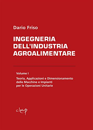 Ingegneria dell'industria agroalimentare: 1