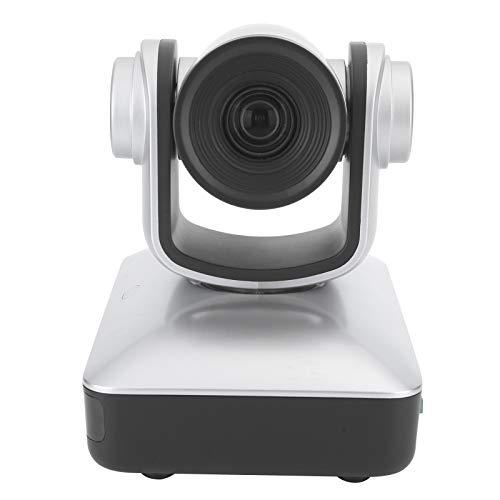 Mxtech Cámara HD, cámara de rotación de rotación de Lanzamiento de Control Remoto de Escritorio, para videoconferencia(European regulations)