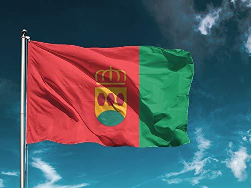 G | Bandera Alcorcón | Medidas 150cm x 85cm | Fácil coloca