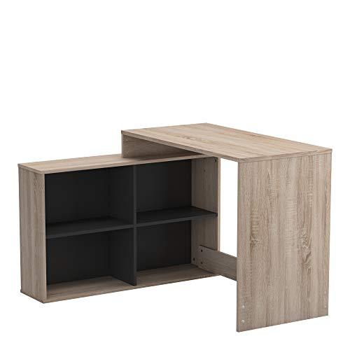 Demeyere Eckschreibtisch, moderner Stil, Mehrzweckmöbel, Aufbewahrung und Büro – Kollektion Corner