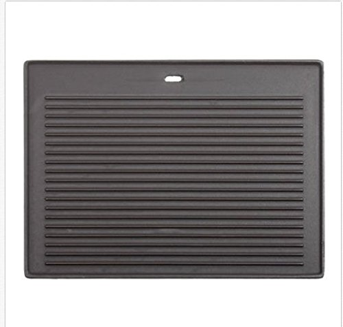 CosmoGrill Cast Iron Reversible Griddle Pan Plate