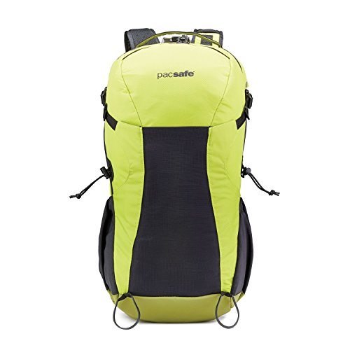 Pacsafe Venturesafe X34 Sac à Dos antivol, Sac à Dos de randonnée, Sac à Dos de Trekking avec Technologie de sécurité, 34 litres, Vert
