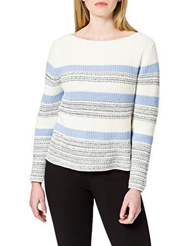ESPRIT Damen 011EE1I325 Pullover, 438/PASTEL Blue 4, L