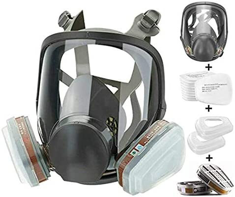 Directly managed store Reusable Full Face Cover 15 6800 Wide 1 Respirator in Max 53% OFF