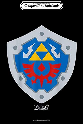 Composition Notebook: Legend Of Zelda Links Awakening Hylian Shield Logo Journal/Notebook Blank Lined…
