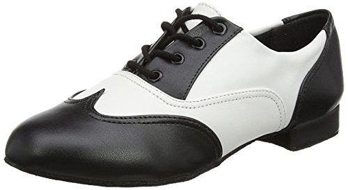 So Danca Jz97, Damen Jazz & Modern, Mehrfarbig (Black/white), 40.5 EU (7 UK)