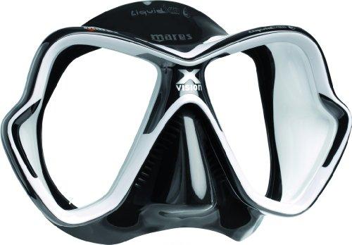 Masque de plongée Mares X-Vision LiquidSkin, schwarz/weiß/schwarz