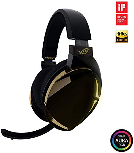 ASUS ROG Strix Fusion 700 Wireless Hi-Fi Gaming Headset (Bluetooth 4.2, Virtual 7.1 Sound, Aura Sync)