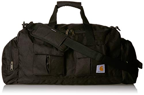 Carhartt Unisex-Adult Legacy 25 Inch Utility Duffel Bag Carry-On Luggage, Black, OFA