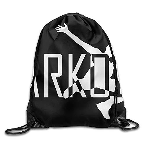 AllenPrint Drawstring Backpack,Parkour Drawstring Aufbewahrungstasche, Casual Drawstring Rucksäcke Für Erwachsene Klettern Reisen,36x43cm