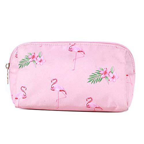 WayOuter Make-up Taschen Kosmetiktasche Reise Kosmetiktasche Frauen Portable Make Up Pouch (Pink)