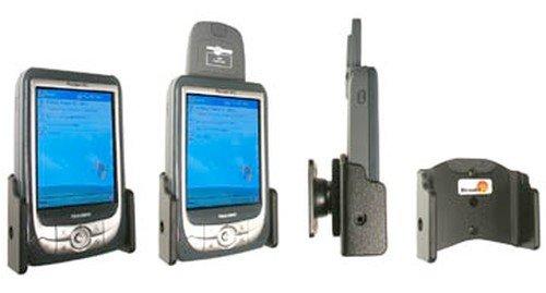 Brodit, Supporto girevole (180°) passivo (senza CAC) per Yakumo Delta X GPS, fornito con braccio a ventosa (170 mm)