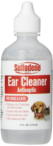 Sulfodene Brand Ear Cleaner Antiseptic for Dogs &...