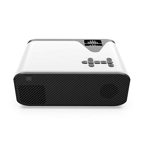 Projector Mini Portable LED Projector 4500 Lumens Video Projectors With Built-in Speaker Remote Control VGA USB AV TF Card Audio Home Theater Cinema Media Video Player For Home Theater Office