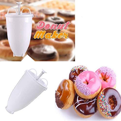 tiowea Donut Donut Batterer Dispenser Home Kitchen Strumenti di Cottura Fai-da-Te Stampi con Forme Particolari
