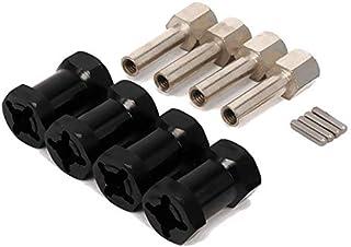 4xRc Replacement L 20mm Aluminum Wheel Hub hex for D90 Axial Scx10II SCX10 Models Car