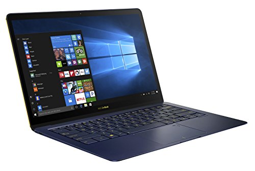 ASUS Zenbook 3 Deluxe UX3490UA (90NB0EI1-M02920) 35,6 cm (14 Zoll, Full-HD) Ultrabook (Intel Core i7-7500U, 16GB RAM, 1024GB SSD, Intel HD Graphics, Windows 10 Pure) royal blau