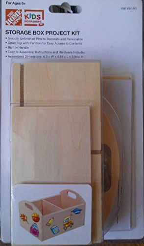 Home Depot Kids Workshops Storage Box Project Kit
