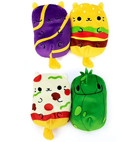 Cats vs Pickles Plushies 4-Pack