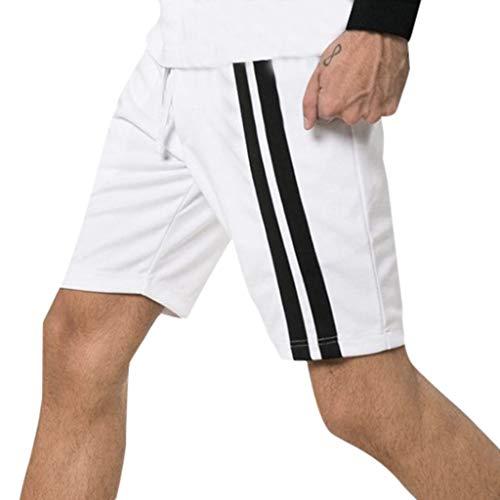 Pottoa Korte herenbroek, casual, effen sportshorts, herenmode, korte broek, heren, zomer, korte broek, jongens, joggingbroek, heren