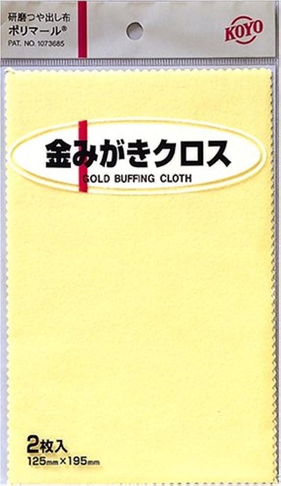 番号株式会社対象KOYO ポリマール 金磨きクロス