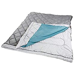 Coleman The Tandem 2 Person 81x66 in Sleeping Bag