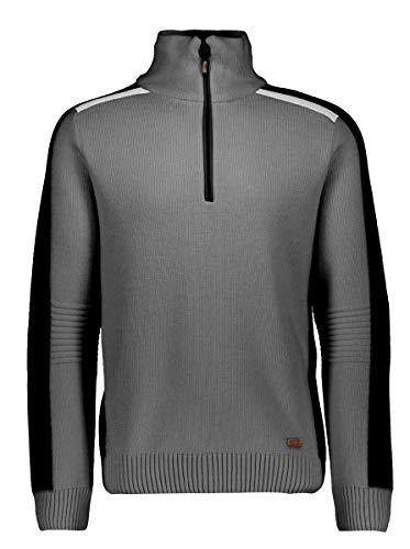 CMP Man Knitted Pullover - Herren Pullover Windstopper Norweger Style - 7H87804 U804 in der Größe 52