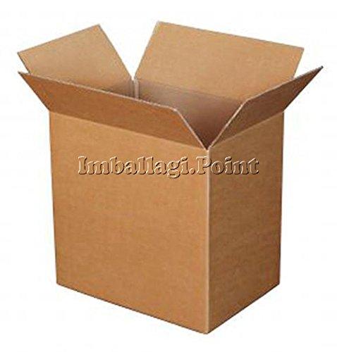 5 stuks kartonnen doos, dubbelzijdig, zeer sterk, 100 x 50 x 50 cm.