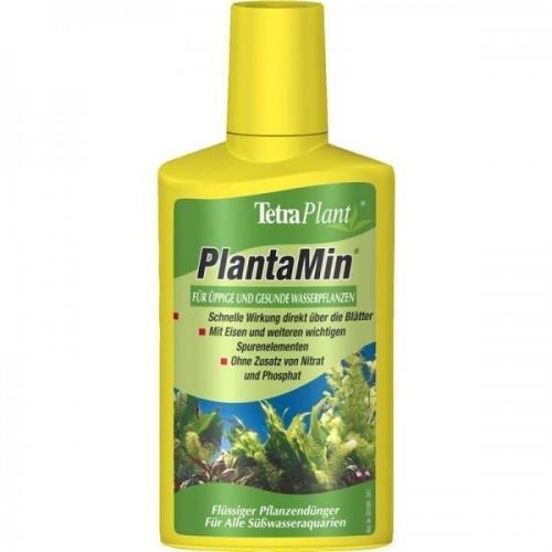 Tetra PlantaMin 250 ml, Volldünger für Aqaurienpflanzen, Universaldünger