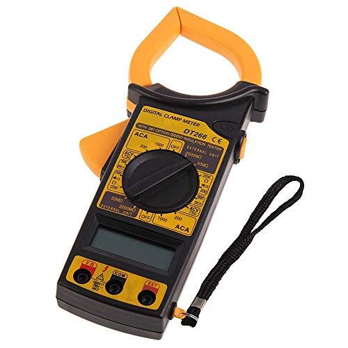 BXU-BG DT266 digital Current Clamp Meter zumbador de retención de datos sin contacto multímetro voltímetro ohmímetro del amperímetro de voltio