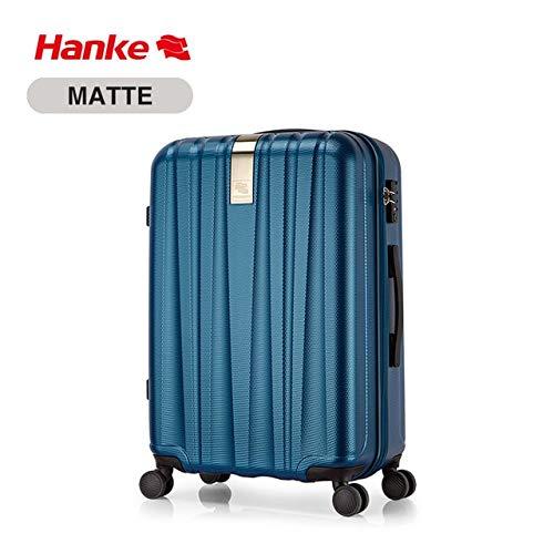 Mdsfe Best Spinner Luggage Suitcase PC Trolley Case Travel Bag Rolling Wheel Carry-On Boarding Men Women Luggage Trip Journey H80002 - Ocean Blue, a2,22