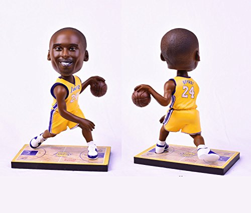 Resin Figure #24 Kobe,Basketball Bobblehead Action Figure,Souvenir,Birthday Gifts,Christmas Gifts,Sports Fan Collection,19cm tall