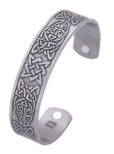 Pulsera de amuleto eslavo con diseño de estrella de Rusia con nudo celta para el cuidado de la salud