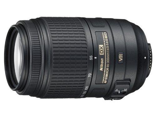 Nikon 55-300mm f/4.5-5.6G ED VR AF-S DX Nikkor Zoom Lens for Nikon - Gray Market