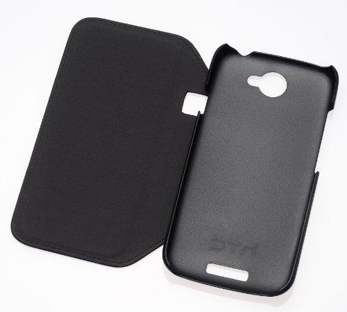 HTC HC V741 Hardshell Case mit Flipstand für One S schwarz
