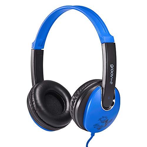 Groov-e Kidz, Kids Headphones, DJ Style, Blue