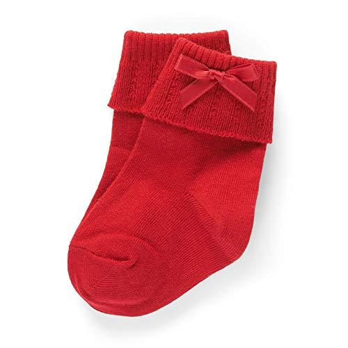 Steiff Baby-Unisex Socken, Rot (Tango Red 4008), 18 (Herstellergröße: 018)