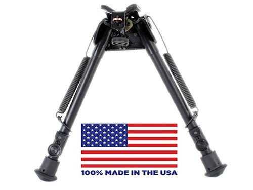 """HBLS Harris Bipod extends from 9"""" to 13"""" swivels to"""