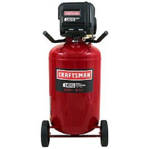 Craftsman 33 Gallon Quiet Vertical Air Compressor 165 PSI...