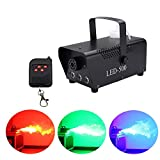 KEHUITONG Disco Colorful Smoke Machine LED Remote fogger Ejector dj Christmas Party Stage