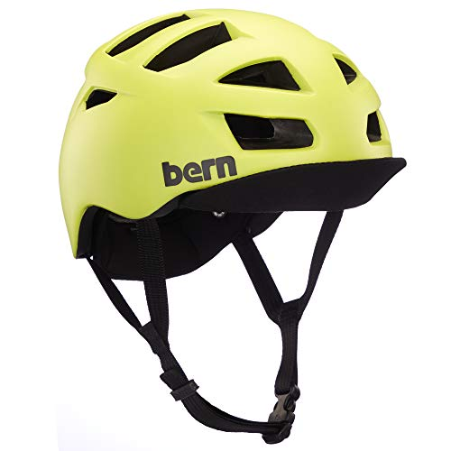 Bern Unisex_Adult Allston Mask, Hyper Green, S