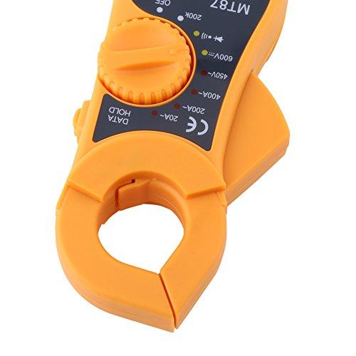 Voltímetro, ohmímetro, medidor LCD para mantenimiento automotriz Resistencia de la casa y voltaje actual