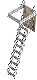 Mister Step Escalera escamoteable para buhardillas ADJ H=
